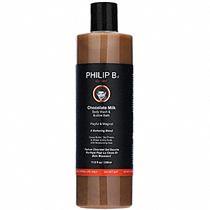 Philip B Chocolate Milk Body Wash and Bubble Bath