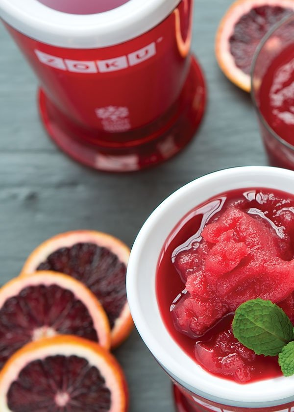 Frozen Blood Orange Bonanza