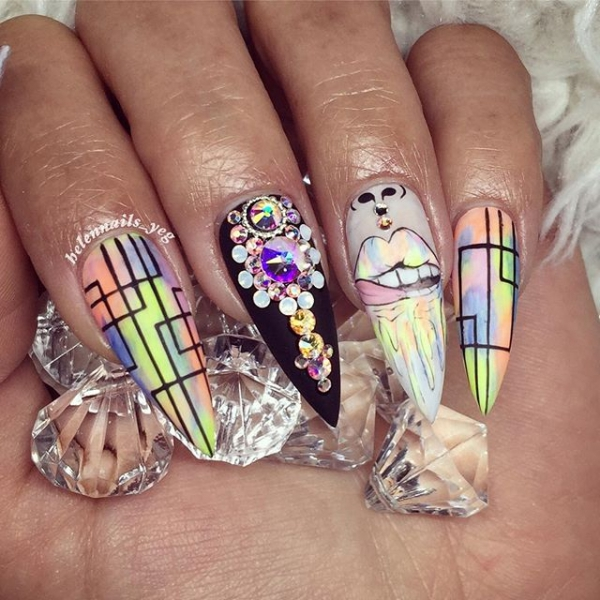 21 of Today's Most Amazing 😍 Nail Inspo for Girls Looking to Play up Their Nails ...