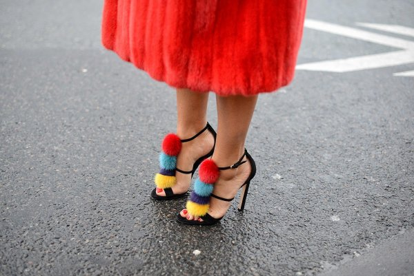 color,footwear,red,yellow,shoe,
