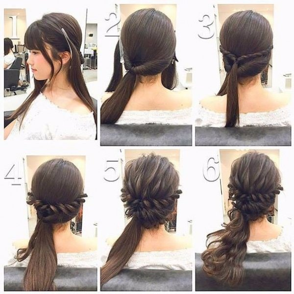 hair,hairstyle,face,black hair,long hair,
