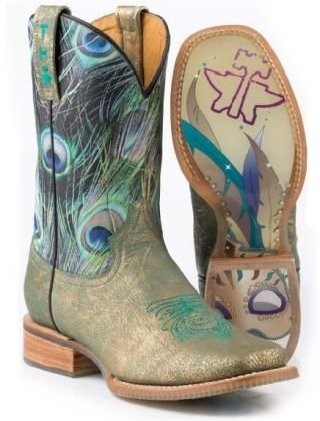 Cowboy Boots - 36 Awesome Peacock Theme Items to Inspire Your Life…