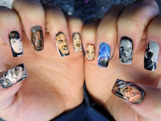 Halloween Nail Art to Pull Your Costume Together ... …