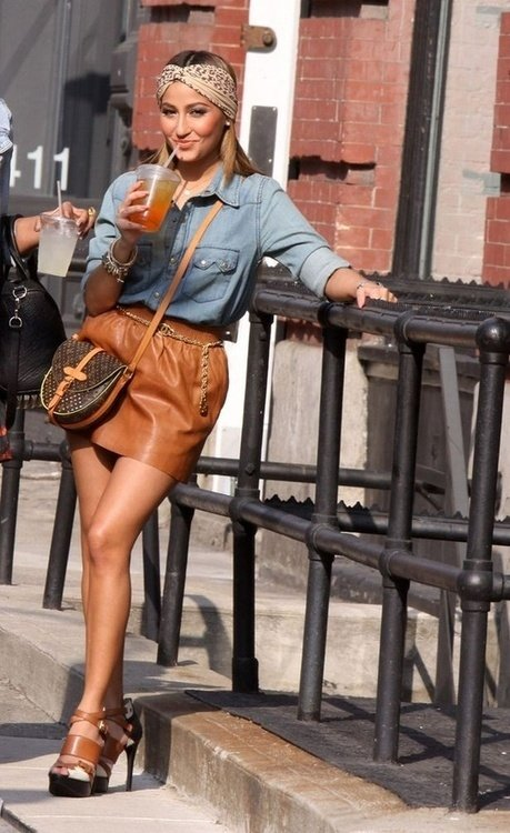 Denim + Leather