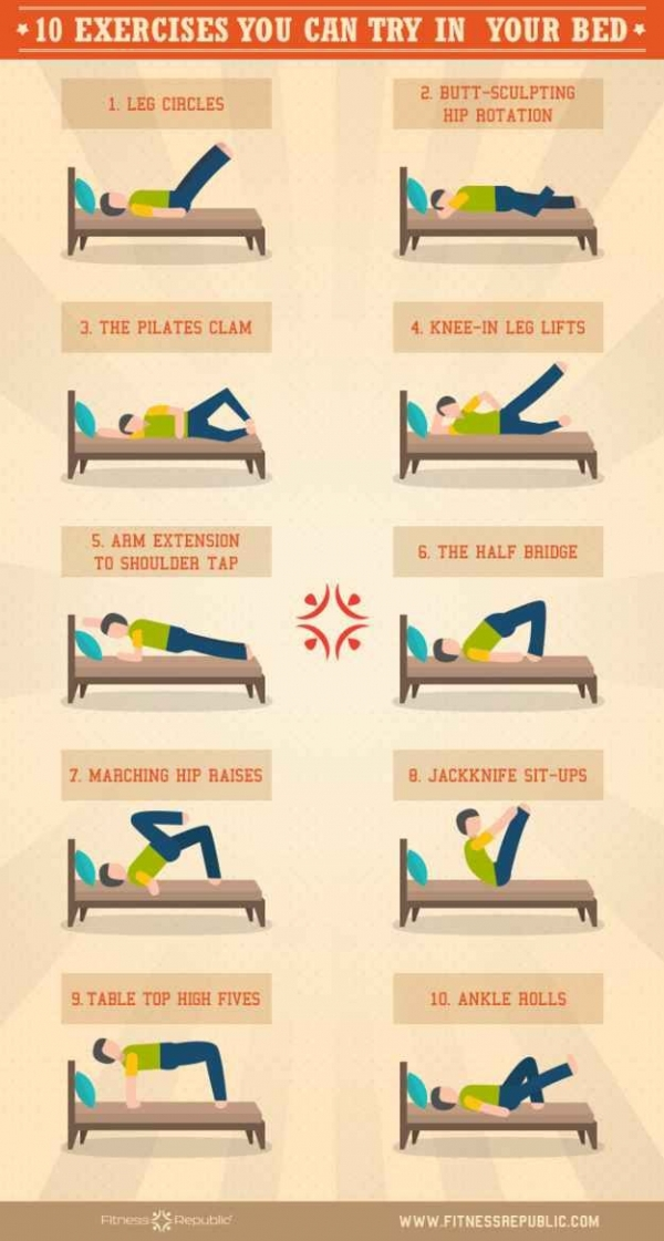 Exercises to Try in Your Bed