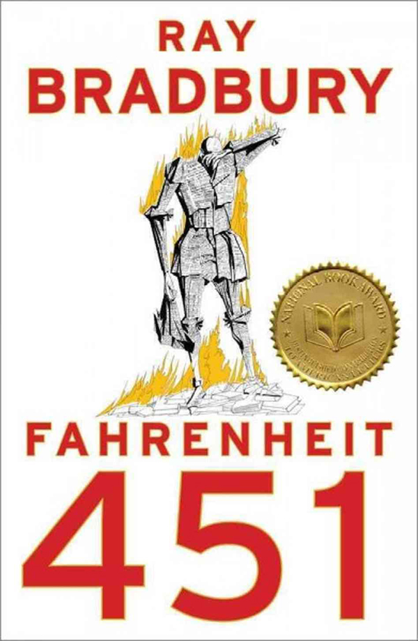 examples of symbolism in fahrenheit 451 by ray bradbury Fahrenheit 451 contains many examples of symbolism it shows symbolism on almost every page in the book due to the fact that most of the scenarios in the book relate to our society today for example the people had seashells, like we have earphones that we can never keep out of our ears i think .