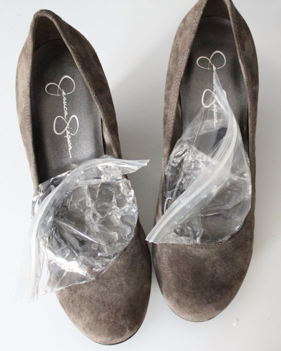 How to Stretch Your Shoes in the Freezer