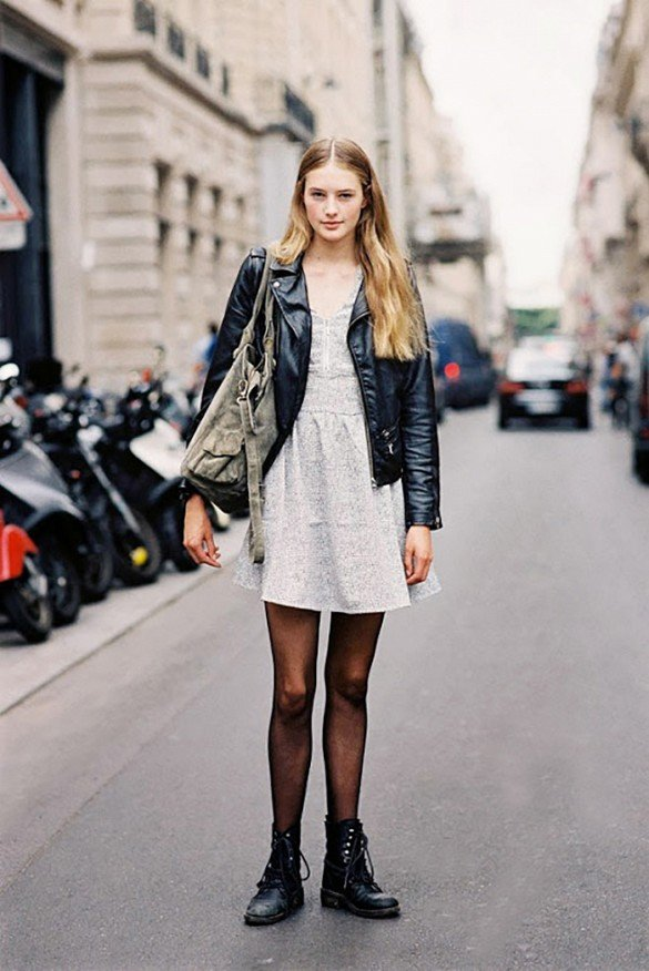 Rock a Leather Jacket with Just about Any Summer Item