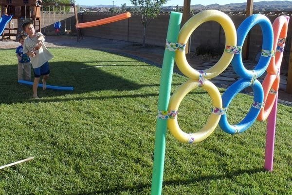 Olympic Ring Roller Coaster
