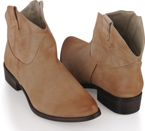 Forever 21 Worn in Cowboy Slip on Boots