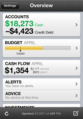 Mint.com Personal Finance