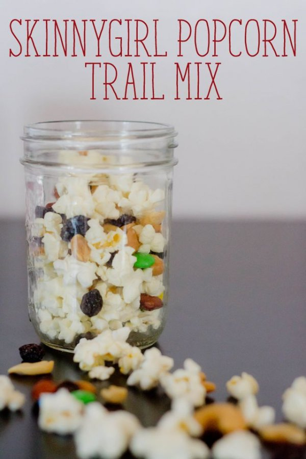 33. SkinnyGirl Popcorn Trail Mix - 35 Healthy Trail Mix Recipes to…