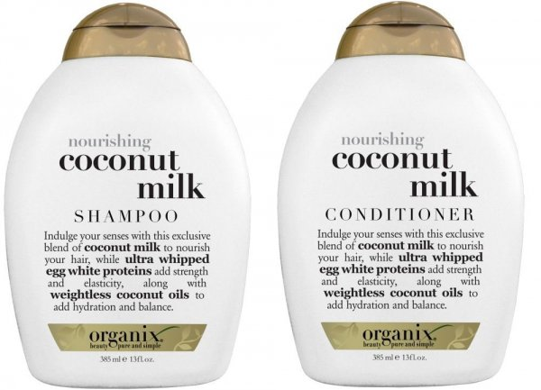 OGX Nourishing Coconut Milk Shampoo and Conditioner