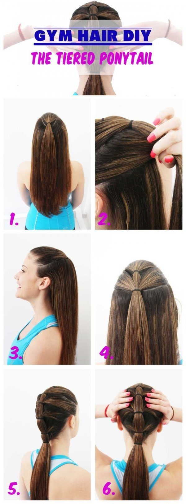 The Perfect Gym Hairstyle