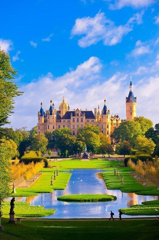 Schwerin Castle, Germany