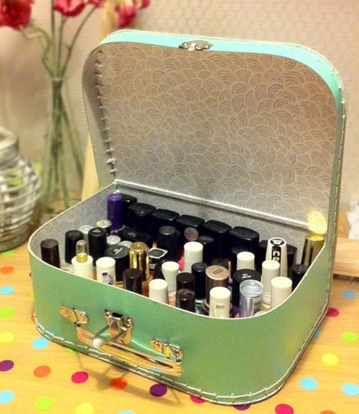 23 Organized Ways To Store Your Polish For…