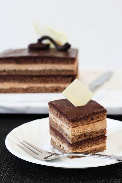 Easy French Opera Cake