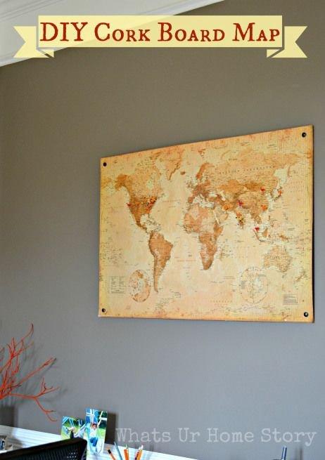 16 Crafts Using Cork Tiles ... DIY
