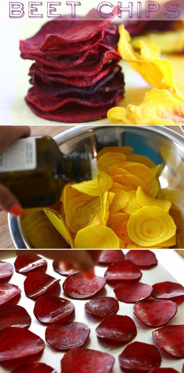 Beet Chips - Thought You Hated Beets? These Decadent Recipes Are…