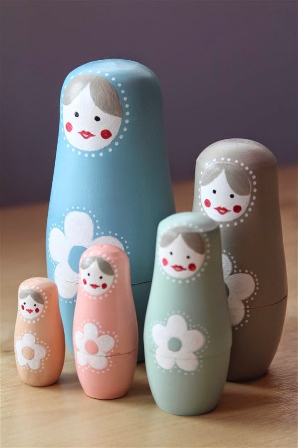 Nesting Doll DIY Projects to Keep You Occupied ... DIY