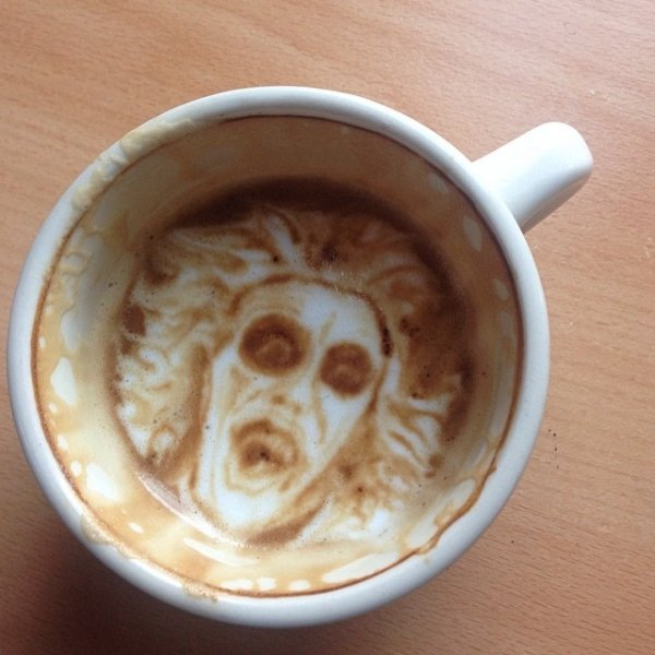 how to make perfect latte art
