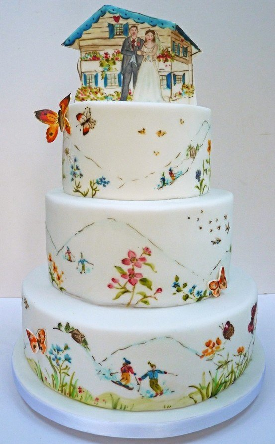 wedding cake,cake decorating,food,sugar paste,cake,