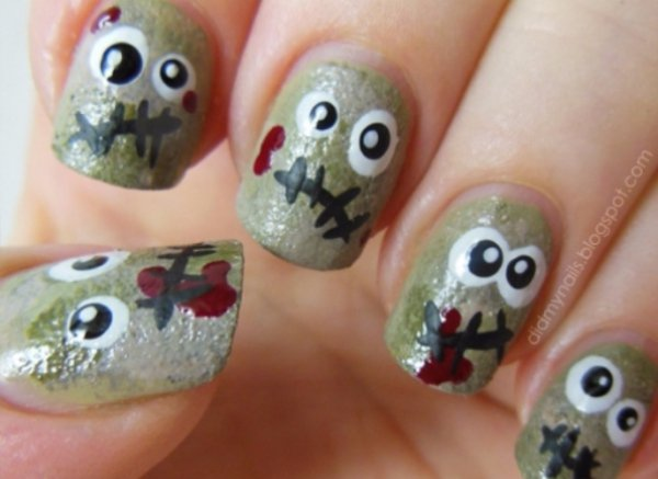 nail,finger,green,manicure,hand,