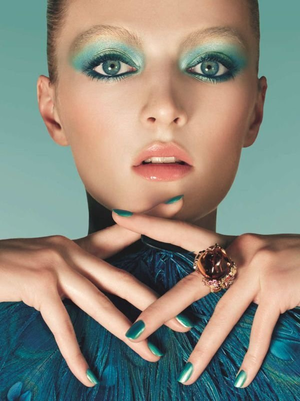 how to make turquoise blue