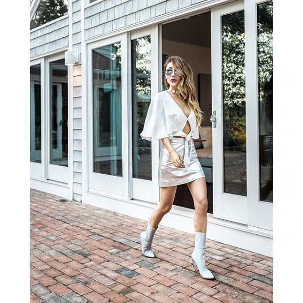 white, clothing, sleeve, dress, outerwear,
