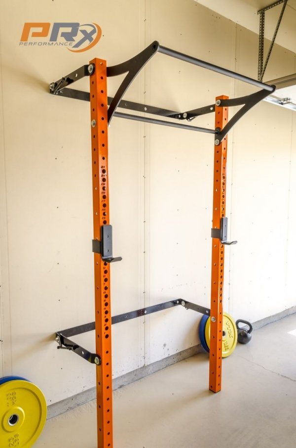 the space saving squat rack   13 awesome pieces of home