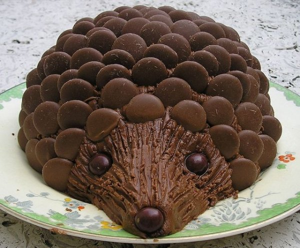 How To Make A Hedgehog Cake