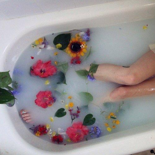 Try a Lovely Milk Bath