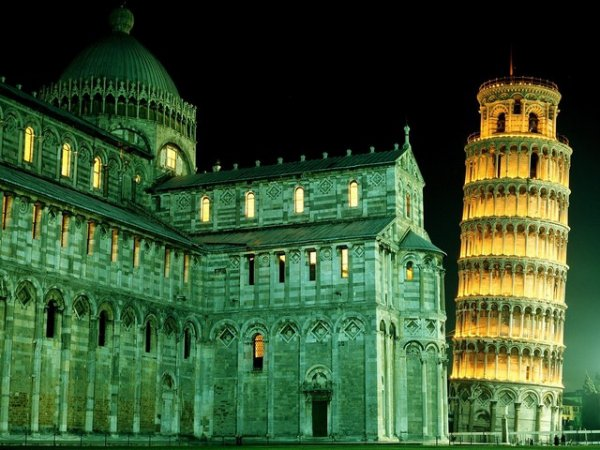 The Duomo and Leaning Tower, Pisa, Italy