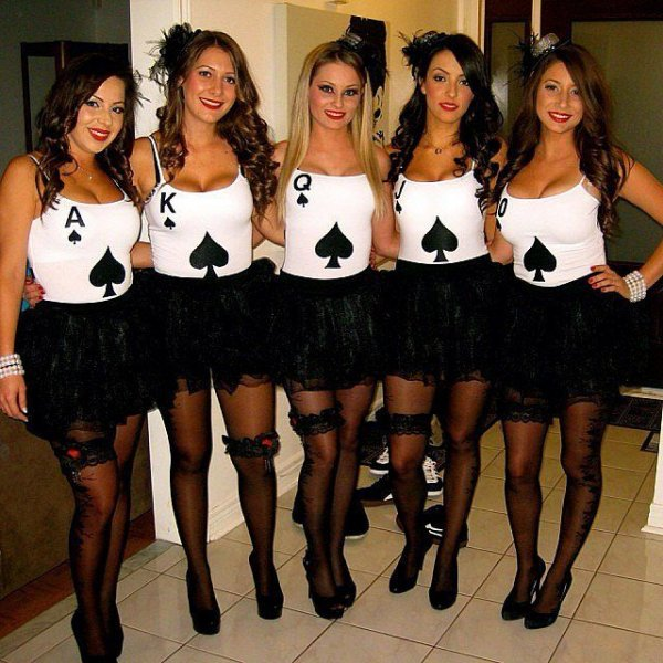 Royal Flush - 17 Cute Halloween Costume Ideas for College ...