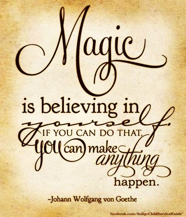 Confidence and Magic - 7 Halloween Inspired Quotes about Magic ...…
