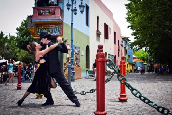 Dance the Tango in Buenos Aires in Argentina