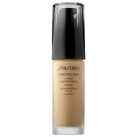 Shiseido Synchro Skin Lasting Liquid Foundation 12 Best