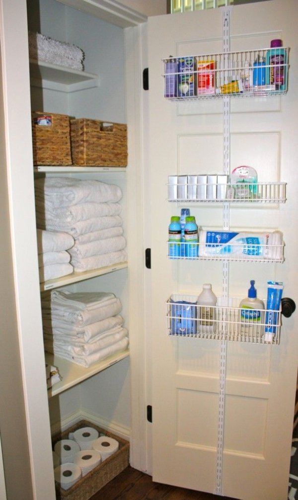 Linen Closet Organization Ideas Part - 37: Maximize Storage. Maximize Storage. Via Linen Closet ...