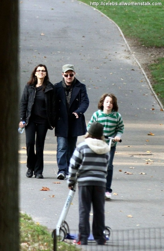 Photos Of Bono's family stroll