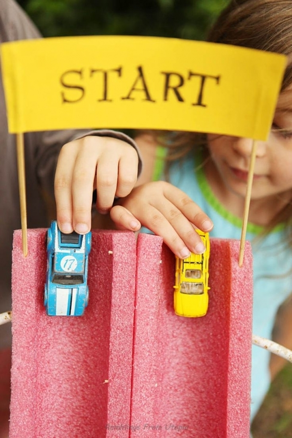 26 Car Chase 31 Diy Carnival Games For A Rockin Party