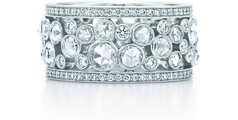 Tiffany Garden Cobblestone Band Ring