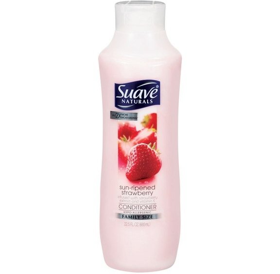 Suave Naturals Sun Ripened Strawberry Conditioner There
