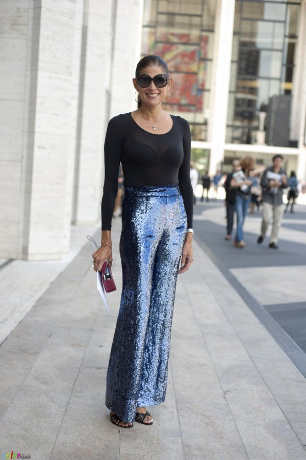 Sequin Pants Are Brave and Fun!