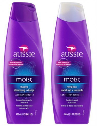 Aussie Moist Shampoo and Conditioner for Dry Hair