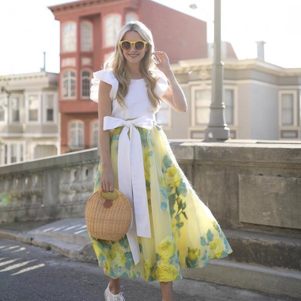 clothing,yellow,dress,fashion,spring,