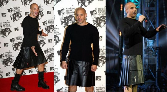 8 Sexiest Celebrity Men in Skirts ... → 👑 Celebs