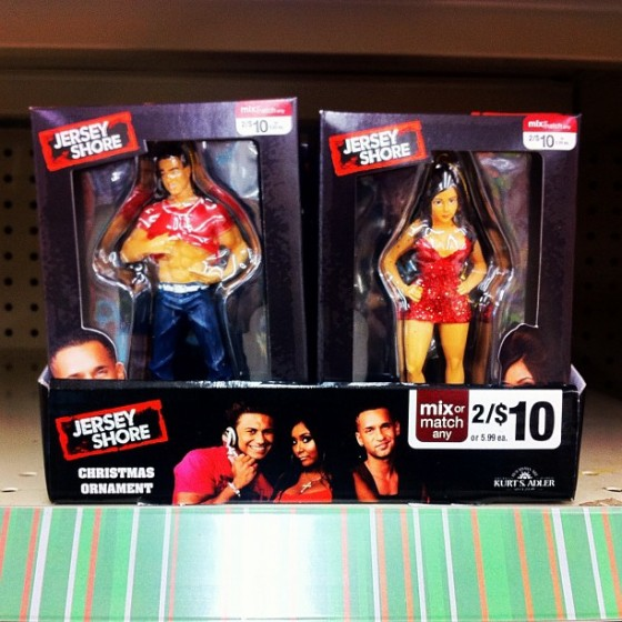 Jersey Shore Christmas Ornaments: Yes Or No Way? Celebs