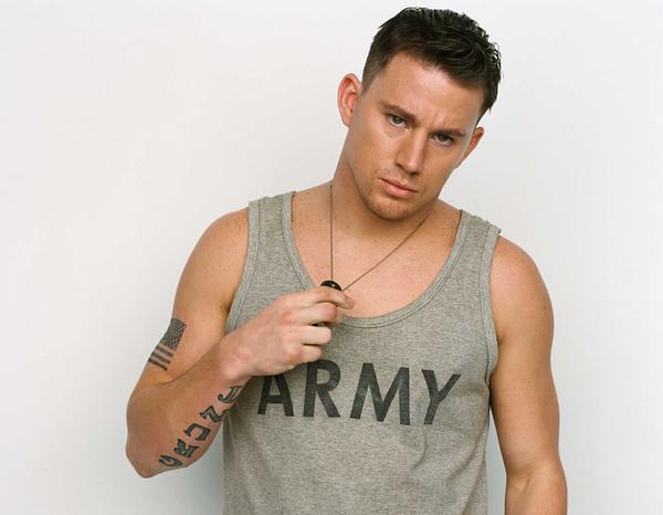 Nothing better than Channing Tatum in a military uniform... Well ...