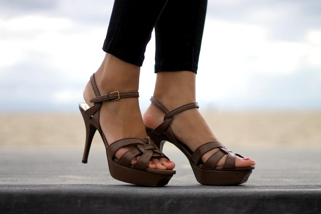 Ysl sandals shoes - Ysl Tribute Heels