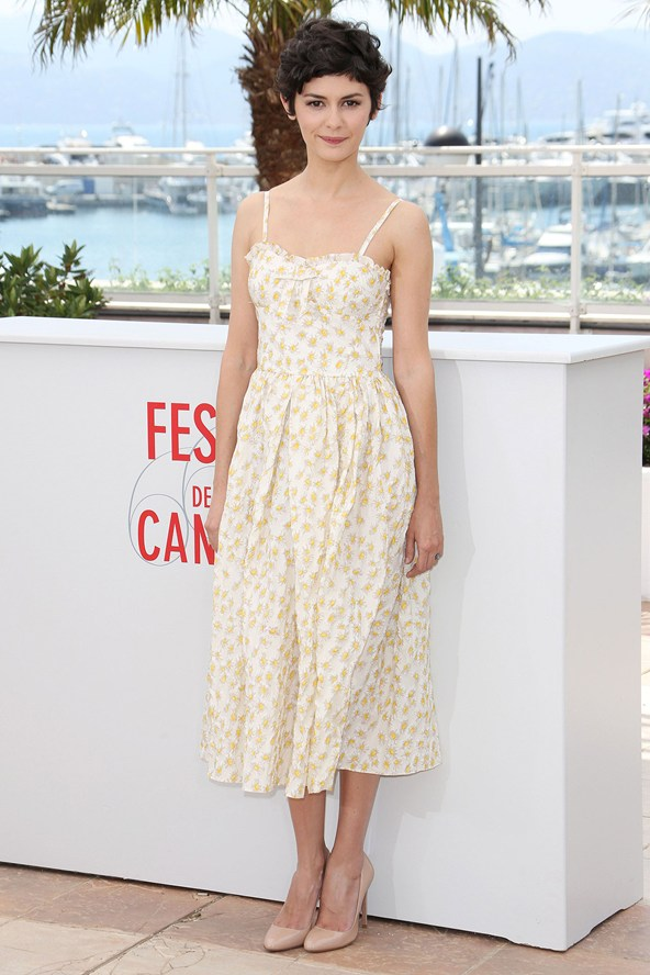 Audrey Tautou in Valentino